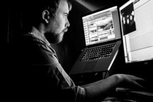 Image of Josh, working